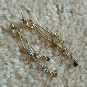 Anthropologie Long dangle earrings